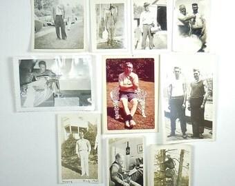 Vintage Snapshots of Manly Men