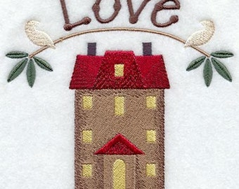 Loving Home - Home of Love - Fabric - Towels