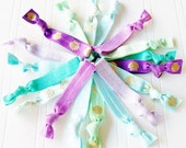 Under the Sea Hair Tie Grab Bag, hair ties ponytail holder party favor mermaid party beach party favor summer survival kit bachelorette