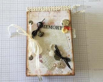 Custom Made Junk Journal, Mini Scrapbook, Smash Book!