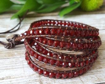 SALE***; Wrap Bracelet; Leather Bracelet; Boho Bracelet; Stone Wrap Bracelet; Bracelet; Stone Jewelry; Bohemian Jewelry