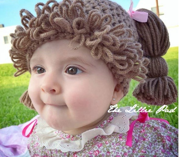 Cabbage Patch Hat Crochet Pattern Cabbage Patch Hat