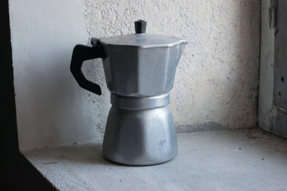 Italian Coffee Maker Percolator : Italian Percolator // 1960 Coffee Maker