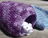 Purples 13x10 Cuddle Sack and Purples Cuddle Hut For Renee