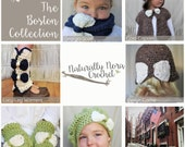 Instant Download 6 Pattern e-book-The Boston Collection
