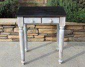 Custom Vanity Distressed with Stained Top
