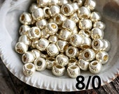 TOHO Seed beads, size 8/0, Galvanized Aluminum, N 558, silver seed beads, round japanese glass - 10g - S849
