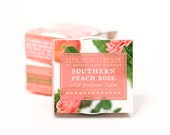 Southern Peach Rose Perfume - All Natural - Soft Rose, Moss, and Ripe Peach
