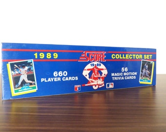 1989 Score Baseball Cards Box Set Unopened New