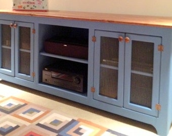large media console tv stand media cabinet