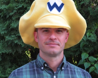 Wario-Inspired Cosplay Hat
