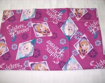 Frozen sisters travel pillowcase