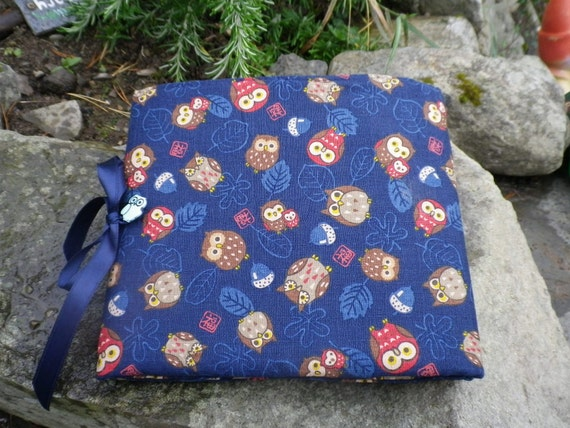 Circular Knitting Fabric : Circular knitting needle case owl fabric by quincepie on