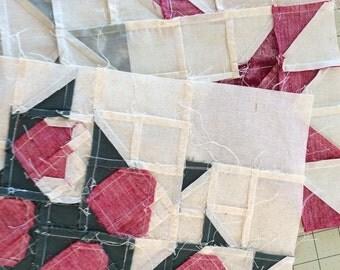 2 quilt blocks