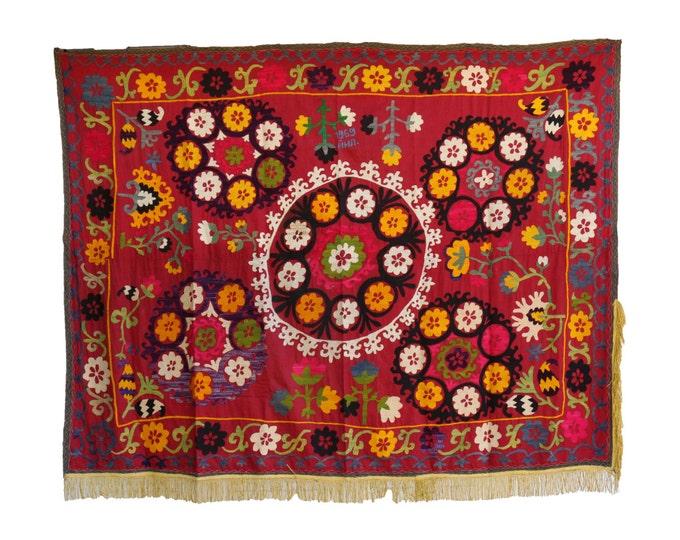 Handmade Vintage Suzani NL3020
