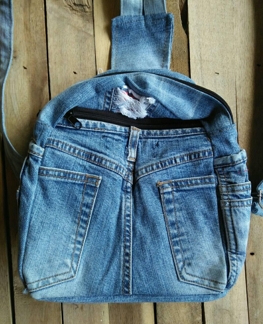 sac dos en denim jeans sac dos dames sac dos sac dos. Black Bedroom Furniture Sets. Home Design Ideas