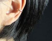 Simple 14k gold filled bar ear cuff handmade US free shipping Anni Designs