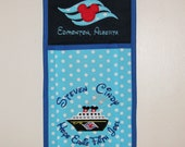 Single deep  pocket Disney Cruise Fish Extender Your design choice