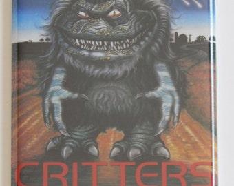 Critters Movie Poster Fridge Magnet