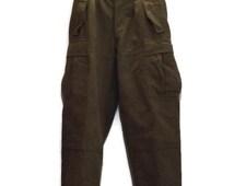 West German Military Issue Six Pocket RAKA HeavyWool Pants 1960s