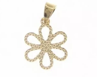 18k solid yellow gold charm