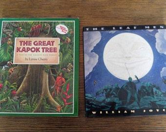 Children's books- nature books- Rain forest- The Leaf Men-The great Kapok Tree