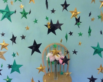 Origami star back drop party decoration photo booth backdrop