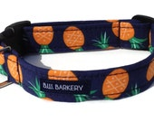 Pineapple  Dog Collar  for Small to Large Dogs