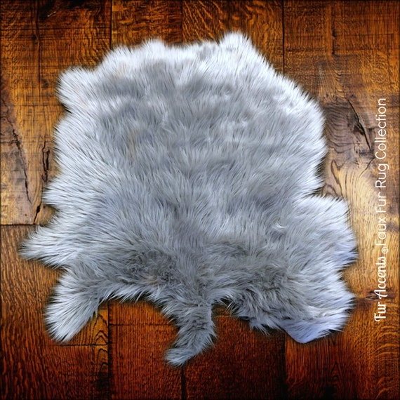Faux Fur Shag Sheepskin Throw Rug Shaggy Soft Thick