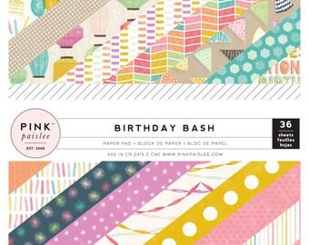 Pink Paislee Birthday Bash 6x6 Paper Pad  -- MSRP 6.00