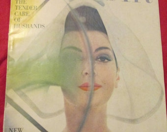 1959 BAZAAR Fashion MAGAZINE