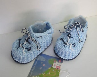 Nautical Baby Booties, Anchor Baby Booties, Baby Crib Shoes, Blue Baby Booties, Nautical Baby Shower Anchor Baby Booties, Navy Baby Booties