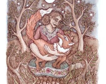 PRINT- Forgiving the Fox
