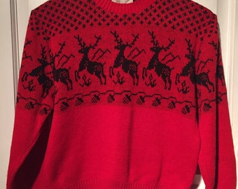 80's holiday sweater