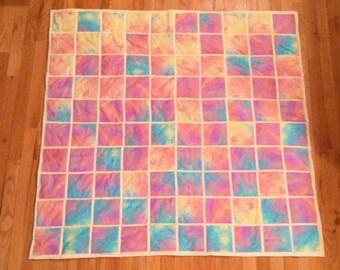 Wedding signature guest book quilt, custom made