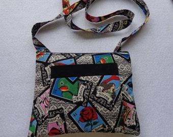 Adult Crossbody Bag: Loteria