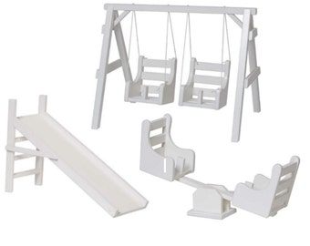 Playground fits American Girl Doll Swing, Slide, SeeSaw