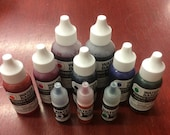 Water Based Refill Ink for Stamp Pads and Self-Inking Stamps