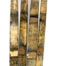50 Bourbon Barrel Staves