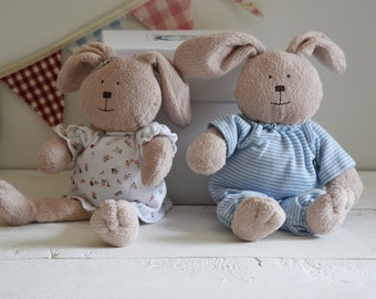 Personalised Baby Gift, Bunny in a box