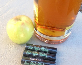 New SOUR APPLE WHISKEY scented Chap stick by Got Whiskey -All Natural organic-Bachelor-Bachelorette-Gag gift-Birthday party-wedding favors
