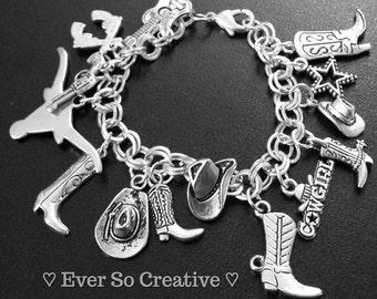 Cowgirl Charm Bracelet