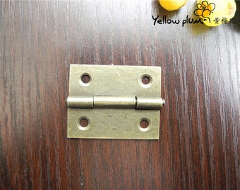 2PC/4PC/10PC/50PC 35*28mm 180 Degree Jewelry Box Hinges,