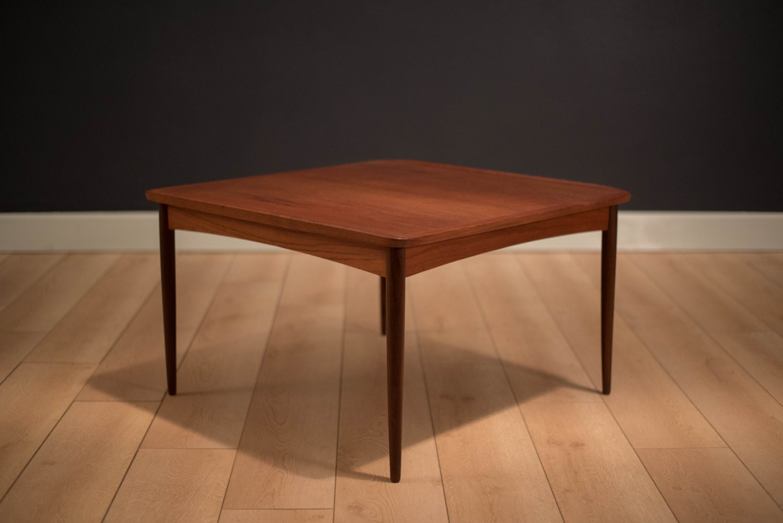 Danish Square Teak Coffee Table