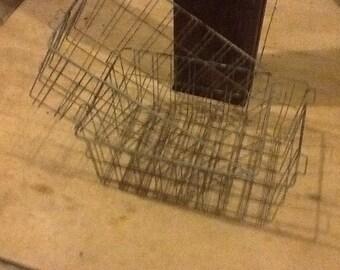 Wire Basket Vintage Farm