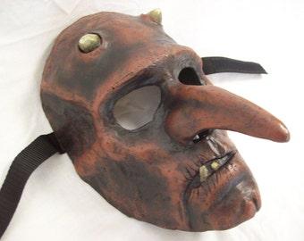 Demon/ plague doctor mask