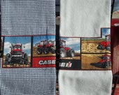 Case IH Red Tractor Tea Towel Set