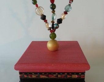 Bead Embellished Box