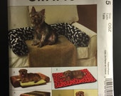 Dog Crate Cover Mattress Bumper, 2 styles Couch Saver, Nap Pad, Corner Bed ~McCalls M5015 Craft Pattern ~ UNCUT~ One Size