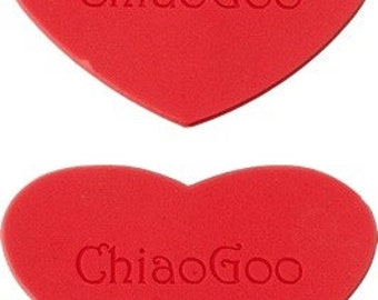 Chiaooo 2599 Red Heart Rubber Grippers